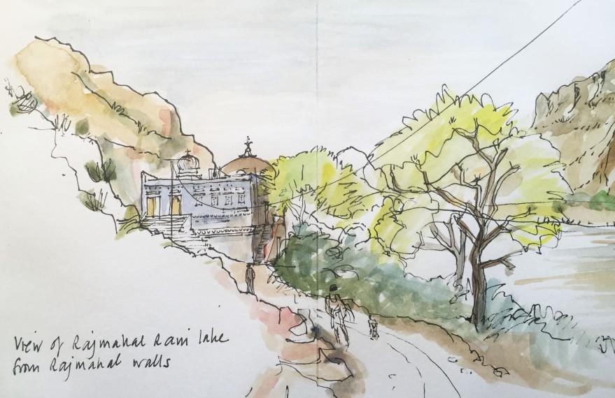 Rajmahal lake sketch.jpg
